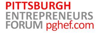 pittsburgh entrepreneurs forum pghef.com