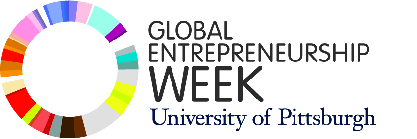 global entrepreneurship week at the university of pittsburgh with the career development office and pitt alumni association, partnered with carnegie mellon university