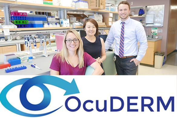 19. OcuDERM Inventors: Morgan Fedorchak, PhD and Jenny Yu, MD, FACS
