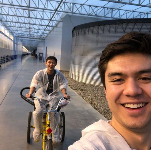 dan chi and brandon contino, four growers, pitt startup