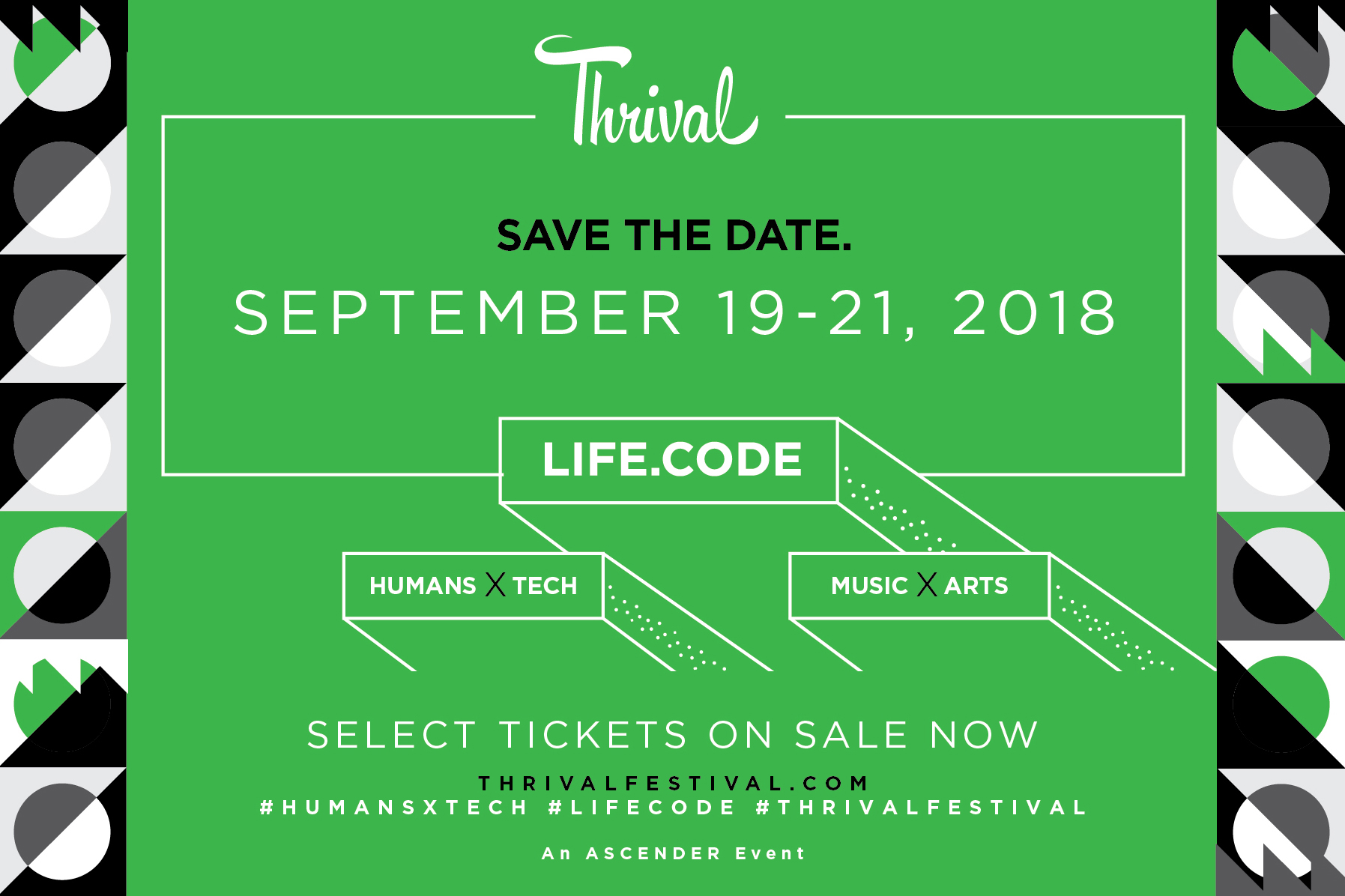 thrival music festival 2018
