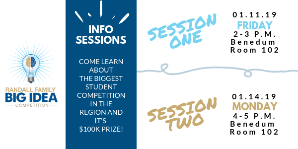 randall family big idea competition info session 2019