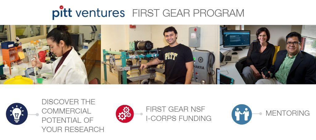 first gear nsf i-corps pitt ventures