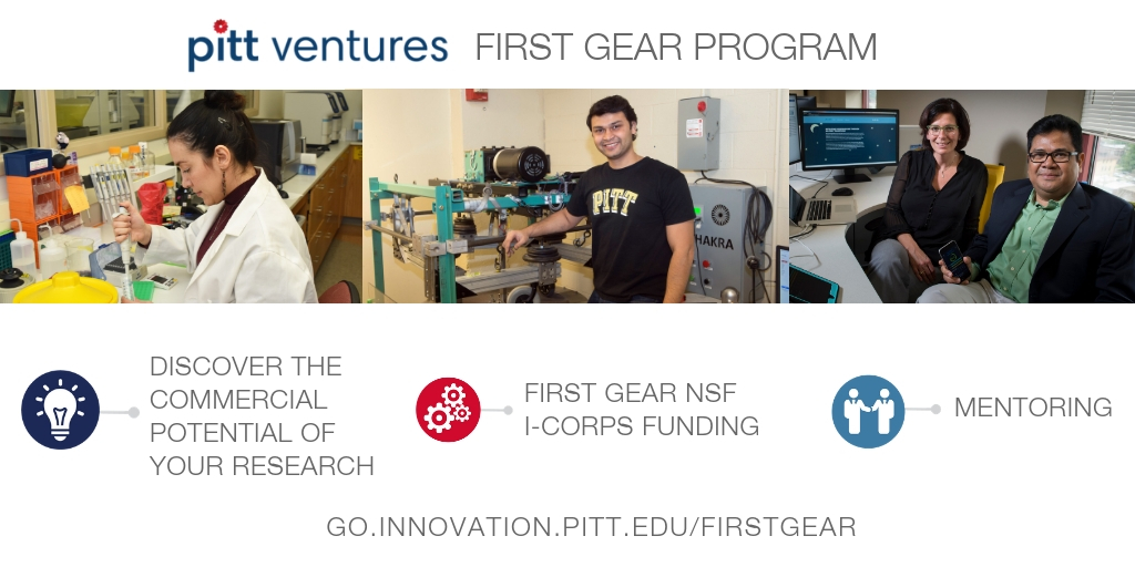 first gear nsf i-corps pitt ventures